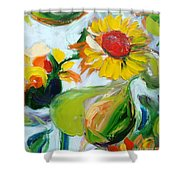 Sunflowers 7 Shower Curtain