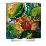 Sunflowers 8 Shower Curtain