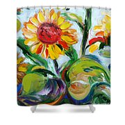 Sunflowers 9 Shower Curtain