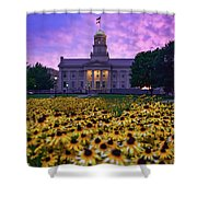 Sunflowers At The Old Capitol Shower Curtain