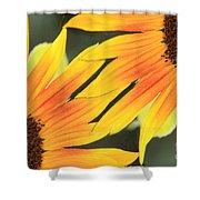 Sunflowers Corners Shower Curtain