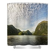 Sunglow In Middle Earth Fantasy-land Shower Curtain