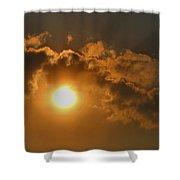Sunglow Shower Curtain