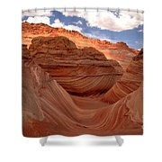 Sunkiss At Coyote Buttes Shower Curtain