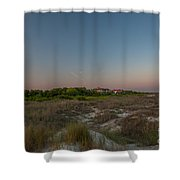 Sunkissed Twilight Shower Curtain