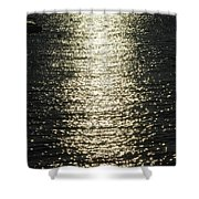 Sunlight On The Water Shower Curtain