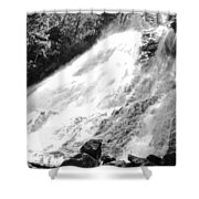 Sunlight Over The Falls Shower Curtain