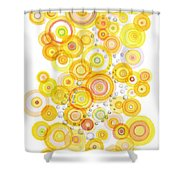 Sunlight Ripples Shower Curtain