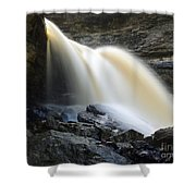 Sunlit Falls Shower Curtain