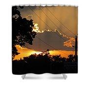 Sunlit Heaven's Shower Curtain