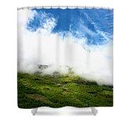 Sunlit Hillside Shower Curtain