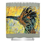 Sunlit Roadrunner Shower Curtain