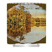 Sunny 3 Shower Curtain