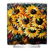 Sunny Bouquet Shower Curtain