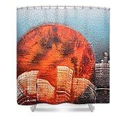 Sunny Buildings Shower Curtain