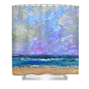 Sunny Day At The Sea Shower Curtain