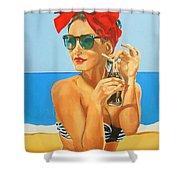 Sunny Days Shower Curtain