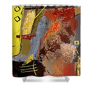 Sunny Disposition Shower Curtain