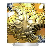 Sunny Island Shower Curtain