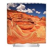 Sunny Northern Arizona Landscape Shower Curtain