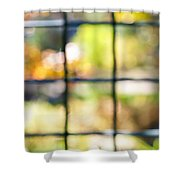 Sunny Outside Shower Curtain