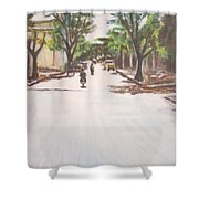 Sunny Road Shower Curtain