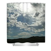Sunny Sky Shower Curtain