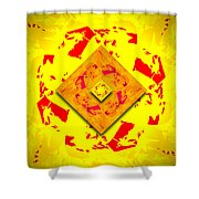 Sunny Thoughts Shower Curtain