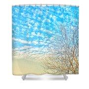 Sunny Tree Shower Curtain