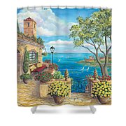 Sunny Villa Shower Curtain