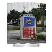 Sunoco Bait And Tackle Shower Curtain