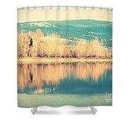 Sunoka In January 3 Shower Curtain