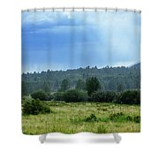 Sunray With Rain Shower Curtain