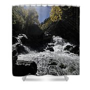 Sunrays And Sparkles Shower Curtain