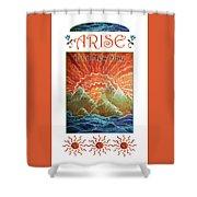 Sunrays - Arise New Day Shower Curtain