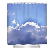 Sunrays Shower Curtain