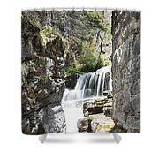 Sunriff Falls Shower Curtain