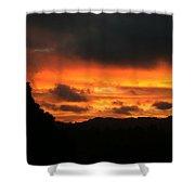 Sunrise 09 29 17 Shower Curtain