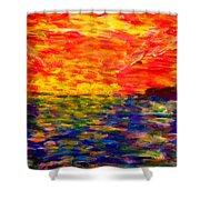 Sunrise #1  15-7 Shower Curtain