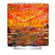 Sunrise #2 15-8 Shower Curtain
