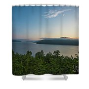Sunrise Allegheny National Forest Shower Curtain