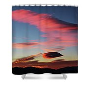 Sunrise Artwork Shower Curtain