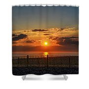 Sunrise - Asbury Park Shower Curtain