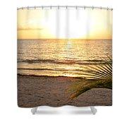 Sunrise At Akumal Sur 1 Shower Curtain
