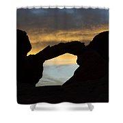 Sunrise At Arch Rock Shower Curtain