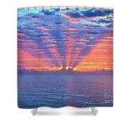 Sunrise At Atlantic Beach Shower Curtain