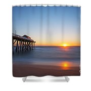 Sunrise At Belmar New Jersey Shower Curtain