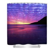 Sunrise At Bray Head, Co Wicklow Shower Curtain