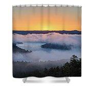 Sunrise At Broken Bow Lake Shower Curtain