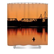 Sunrise At Burbank Shower Curtain